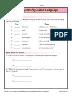 Working With Figurative Language