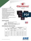 GB4091 2010-12L Element Gel Blocs Tech Data Sheet