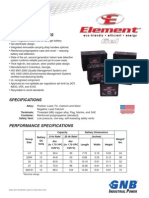 GB4091 2010-12L Element Gel Blocs Tech Data Sheet