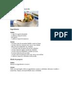 Salada Colorida de Macarrão Para Ceia