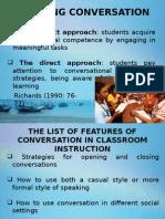 Teaching Speaking Presentation