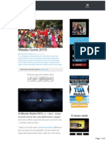 Missão Guiné 2015!