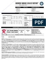 04.18.15 Mariners Minor League Report