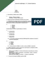 Gabarito - Quest 11 - Ácidos Nucleicos
