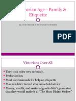 the victorian age- family & etiquette 4