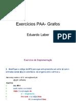 Exercícios-Grafo