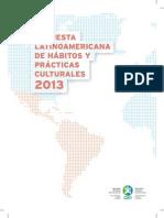 2013 OEI Encuesta Latinoamericana de Hábitos y Prácticas Culturales