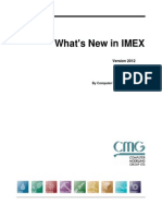 What's New in IMEX 2012