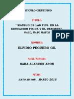 EDUCACIÓN, TICS