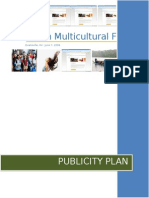 2008 Publicity Plan