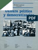 Norbert Lechner, Cultura política y democratización
