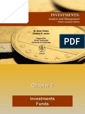 investments analysis and management third canadian edition chapter 2