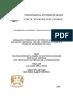 03. Formación y Práctica de Tutores en Sistemas de Educación a Distancia. Uso Del Correo Electrónico y Diseño de Materiales en Línea