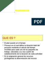 4- PROGRAMACIÓN