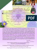 Power Journey to India 2014