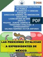 PENSIONES A EXPRESIDENTES DE MÉXICO DHTIC PRESENTACION