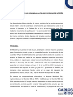 Documento Sobre Las Denominadas Falsas Viviendas de Interés