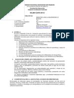 7E Didáctica de La Matemática I - Chauca
