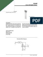 SS49e Hall Sensor Datasheet
