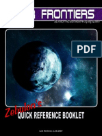 Zebulon's Guide Quick Reference