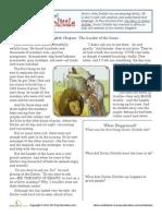 Reading Comprehension Dr Dolittle Worksheet