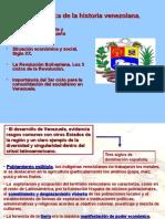 1 Panorámica de La Historia Venezolana