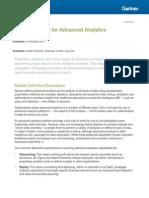 2015 Magic Quadrant for Advanced Analytics Platforms