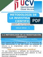 metodología de la investigación científica.