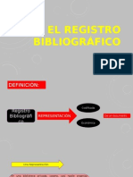 El Registro Bibliográfico