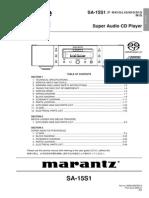 Hfe Marantz Sa-15s1 Service En