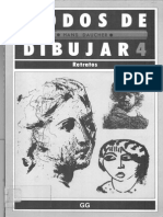 Fg57 Libro de Dibujo Modos de Dibujar Retratos