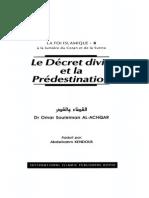 La Foi Islamique 8 - Le Decret Divin Et La Predestination - Omar Al-Achqar