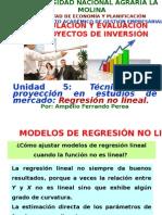 Regresión No Lineal.