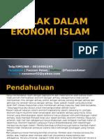 Akhlak Dalam Ekonomi Islam