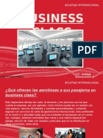 Business Class en Aviones