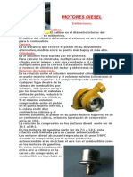 El Motor Diesel y Sus Partes Basicas