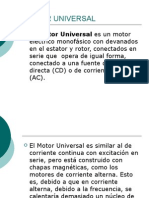 Presentación Motor Universal
