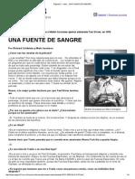 Radar __ UNA FUENTE de SANGRE Entrevista