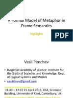 A Formal Model of Metaphor in Frame Semantics