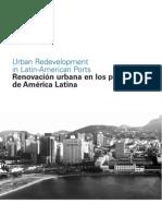 Renovación Urbana en Los Puertos de América Latina