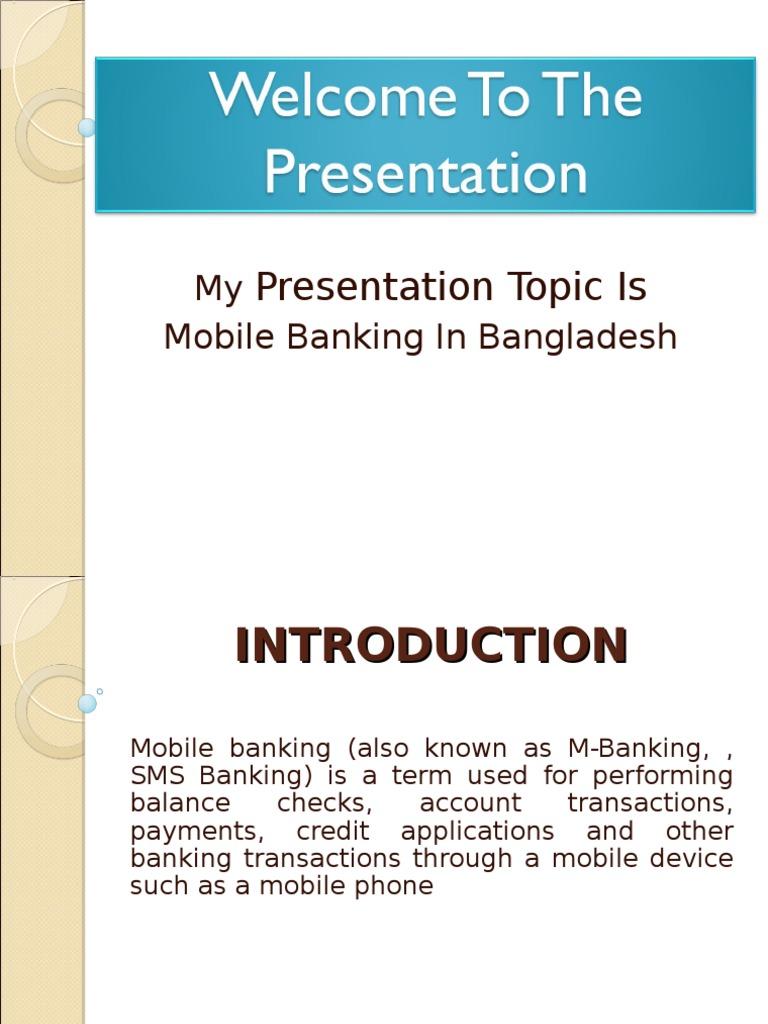 Mobile Banking In Bangladesh | Mobile Phones | Banks