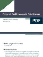 Penyakit Parkinson Pada Pria Dewasa