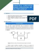 Previo 3 Circuitos Osciladores Sinusoidal de Alta Frecuencia