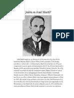 Quién Es José Martí
