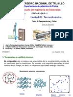 Temperatura y Calor 2015 I Ing. Mater