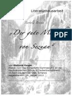 Der Gute Mensch von Sezuan>>>Bertolt Brecht