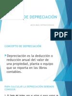 Metodos de Depreciación