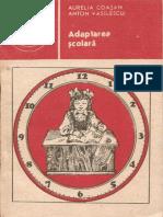 Aurelia Coasan, Anton Vasilescu Adaptarea Şcolară 1988