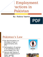 Equal Employment Practices in Pakistan Wdo Lec3
