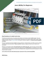 Electrical-Engineering-portal.com-Miniature Circuit Breakers MCBs for Beginners